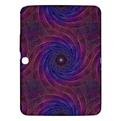 Pattern Seamless Repeat Spiral Samsung Galaxy Tab 3 (10 1 ) P5200 Hardshell Case  by Nexatart