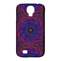 Pattern Seamless Repeat Spiral Samsung Galaxy S4 Classic Hardshell Case (pc+silicone)