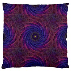 Pattern Seamless Repeat Spiral Large Flano Cushion Case (two Sides) by Nexatart