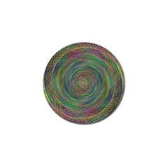 Spiral Spin Background Artwork Golf Ball Marker (10 Pack)