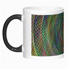 Spiral Spin Background Artwork Morph Mugs