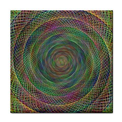 Spiral Spin Background Artwork Face Towel by Nexatart