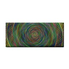 Spiral Spin Background Artwork Cosmetic Storage Cases by Nexatart