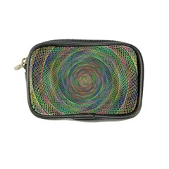 Spiral Spin Background Artwork Coin Purse