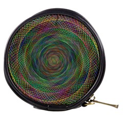 Spiral Spin Background Artwork Mini Makeup Bags