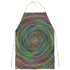 Spiral Spin Background Artwork Full Print Aprons by Nexatart
