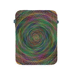 Spiral Spin Background Artwork Apple Ipad 2/3/4 Protective Soft Cases by Nexatart