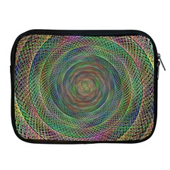 Spiral Spin Background Artwork Apple Ipad 2/3/4 Zipper Cases