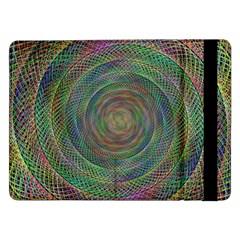 Spiral Spin Background Artwork Samsung Galaxy Tab Pro 12 2  Flip Case by Nexatart