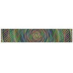Spiral Spin Background Artwork Flano Scarf (large) by Nexatart