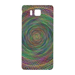 Spiral Spin Background Artwork Samsung Galaxy Alpha Hardshell Back Case