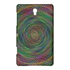 Spiral Spin Background Artwork Samsung Galaxy Tab S (8 4 ) Hardshell Case  by Nexatart