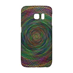 Spiral Spin Background Artwork Galaxy S6 Edge