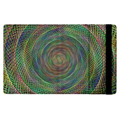 Spiral Spin Background Artwork Apple Ipad Pro 12 9   Flip Case