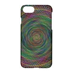 Spiral Spin Background Artwork Apple Iphone 7 Hardshell Case