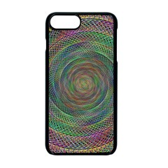 Spiral Spin Background Artwork Apple Iphone 7 Plus Seamless Case (black)