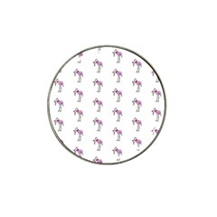 Sweet Flamingo Pattern Hat Clip Ball Marker (4 Pack) by MoreColorsinLife