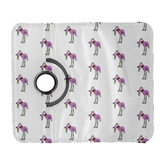 Sweet Flamingo Pattern Galaxy S3 (flip/folio) by MoreColorsinLife
