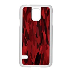 Abstract 2 Samsung Galaxy S5 Case (white) by tarastyle