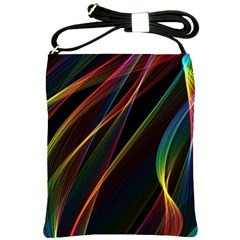 Rainbow Ribbons Shoulder Sling Bags