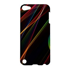 Rainbow Ribbons Apple Ipod Touch 5 Hardshell Case by Nexatart