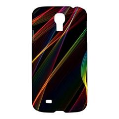 Rainbow Ribbons Samsung Galaxy S4 I9500/i9505 Hardshell Case