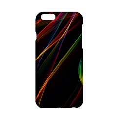 Rainbow Ribbons Apple Iphone 6/6s Hardshell Case
