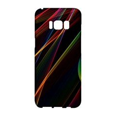 Rainbow Ribbons Samsung Galaxy S8 Hardshell Case