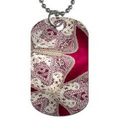 Morocco Motif Pattern Travel Dog Tag (two Sides)