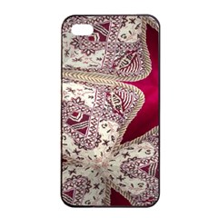 Morocco Motif Pattern Travel Apple Iphone 4/4s Seamless Case (black) by Nexatart