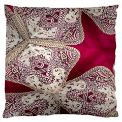 Morocco Motif Pattern Travel Large Cushion Case (one Side)