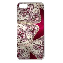 Morocco Motif Pattern Travel Apple Seamless Iphone 5 Case (clear)