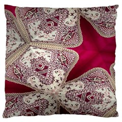 Morocco Motif Pattern Travel Large Flano Cushion Case (two Sides) by Nexatart