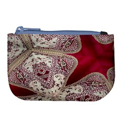 Morocco Motif Pattern Travel Large Coin Purse