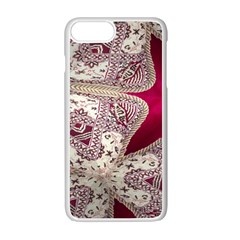 Morocco Motif Pattern Travel Apple Iphone 7 Plus White Seamless Case