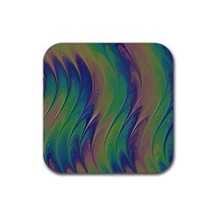Texture Abstract Background Rubber Square Coaster (4 Pack)  by Nexatart
