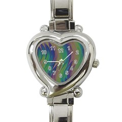 Texture Abstract Background Heart Italian Charm Watch by Nexatart