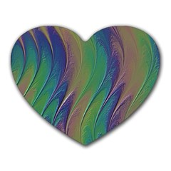 Texture Abstract Background Heart Mousepads
