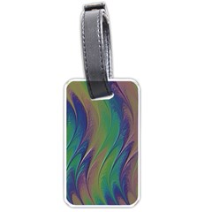 Texture Abstract Background Luggage Tags (two Sides)