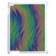 Texture Abstract Background Apple Ipad 2 Case (white)