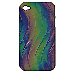 Texture Abstract Background Apple Iphone 4/4s Hardshell Case (pc+silicone)