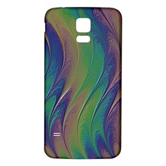 Texture Abstract Background Samsung Galaxy S5 Back Case (white)