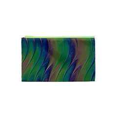 Texture Abstract Background Cosmetic Bag (xs)