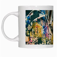 Art Graffiti Abstract Vintage White Mugs by Nexatart