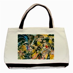 Art Graffiti Abstract Vintage Basic Tote Bag