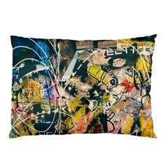 Art Graffiti Abstract Vintage Pillow Case