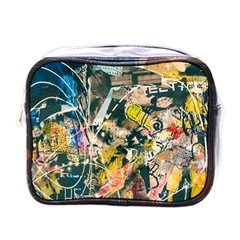 Art Graffiti Abstract Vintage Mini Toiletries Bags