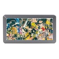Art Graffiti Abstract Vintage Memory Card Reader (mini)