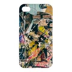 Art Graffiti Abstract Vintage Apple Iphone 4/4s Hardshell Case by Nexatart