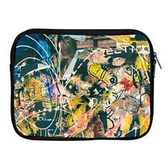 Art Graffiti Abstract Vintage Apple Ipad 2/3/4 Zipper Cases by Nexatart